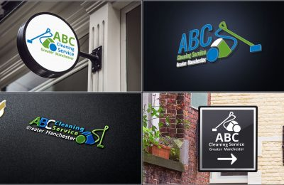 Logotype for ABC Cleaning Service