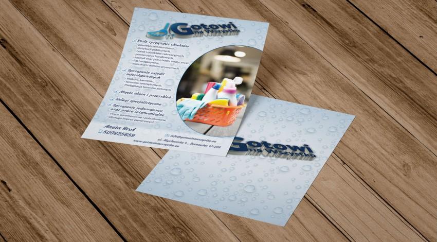Brochures for Gotowi na wszystko