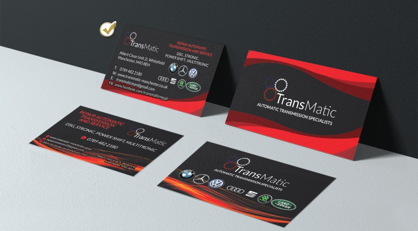 Business card for Transmatic