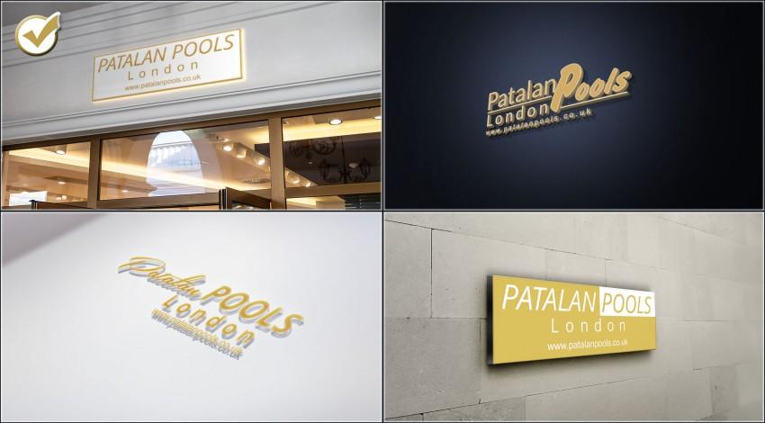Logotype for Patalan Pools