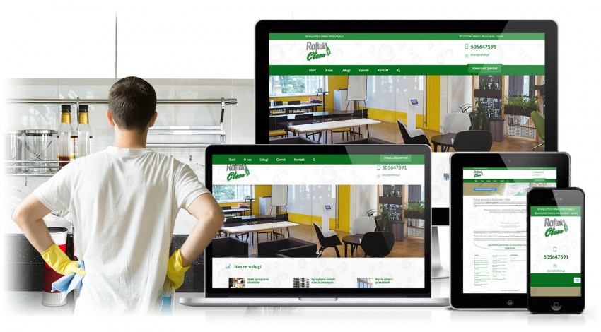 Website for Raftak Clean