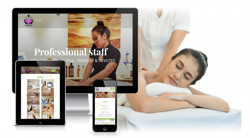 Website for Siam Body and Soul